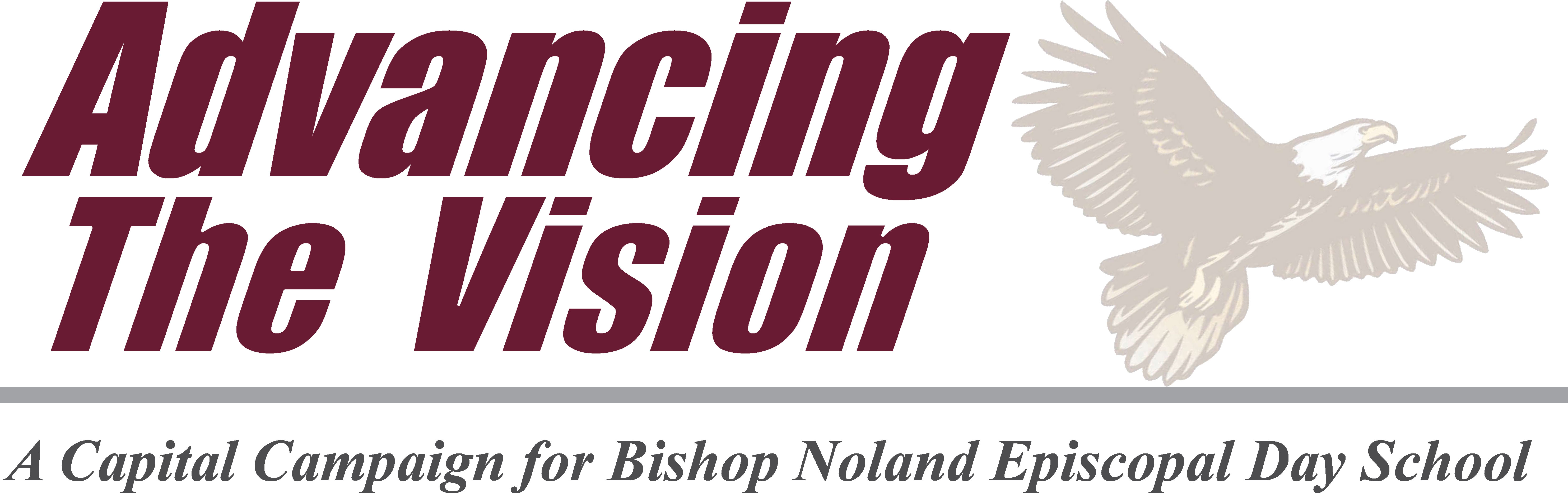 Advancing The Vision Logo - A Capital Campaign for Bishop Noland Episcopal Day School